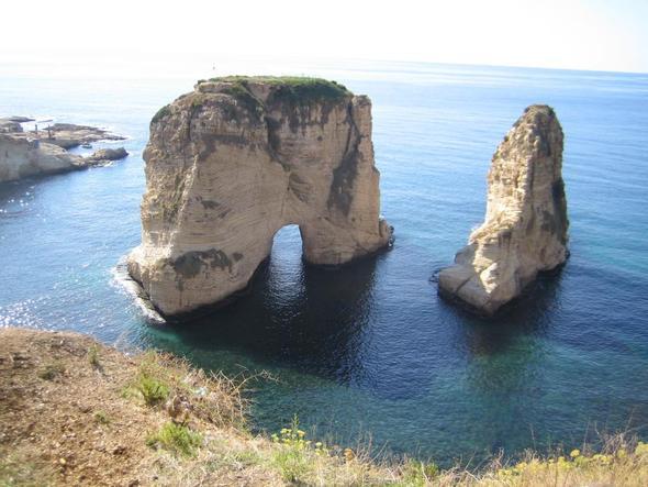 Rouche Pigeon Rocks - (Sehenswürdigkeiten, Städtereise, Naher Osten)