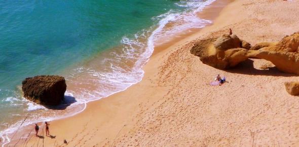 Praia da Marinha - (Portugal, Algarve, Faro)