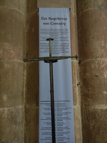 Sebaldus-Kirche: Das Nagelkreuz von Coventry - (Deutschland, Sehenswürdigkeiten, Bayern)