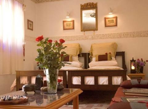 Zimmeransicht - (Hotel, Unterkunft, Marokko)