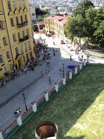 Der Andreas-Abstieg - (Sehenswürdigkeiten, Ukraine, Kiel)