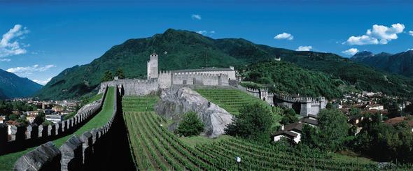 Bellinzona (Tessin) - (Schweiz, Wein, Qualität)