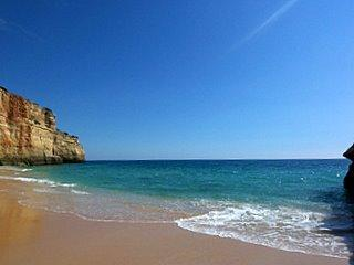 Benagil Strand bei Carvoeiro - (Portugal, Laos, Algarve)