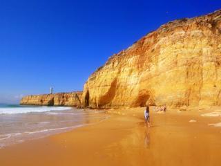Praia Caneiros bei Carvoeiro - (Portugal, Laos, Algarve)