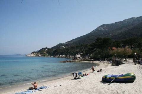 exklusiverholung.de Strand von Sant Andrea - (Italien, Urlaub, Strand)