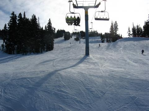 Sonntag vormittag, 1030h... - (Amerika, Kanada, Skifahren)