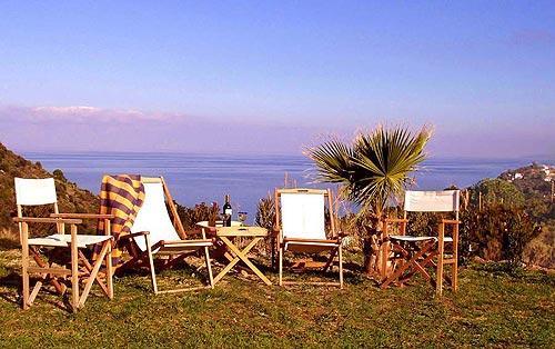 Blick auf das Meer - (Italien, Reise, Urlaub)