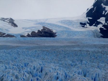 Das riesige Eismeer des Perito Moreno Gletschers - (Südamerika, Lateinamerika, Argentinien)