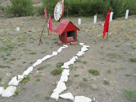 Ein Altar für 'Gaucho Gil' - (Südamerika, Lateinamerika, Argentinien)