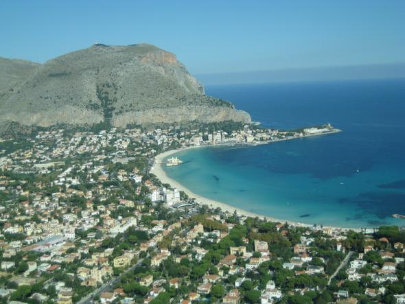 Strand Palermo - (Italien, Städtereise, Insel)