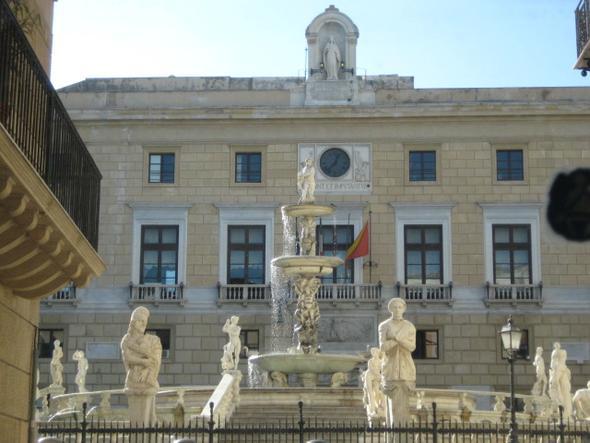 Palermo Platz der Schande - (Italien, Städtereise, Insel)