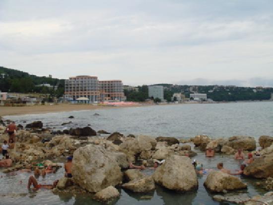 Heiße Quellen am Strand von Svete Konstantin, Bulgarien - (Strand, Meer, Entspannung)