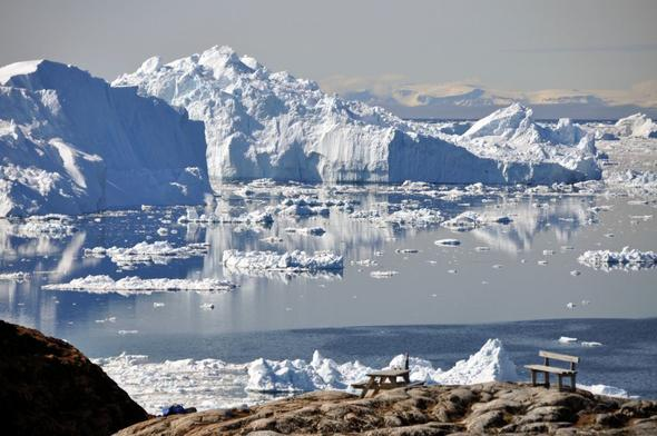 Ilulissat / Grönland im Mai - (Grönland, Polarlichter, Ilulissat)