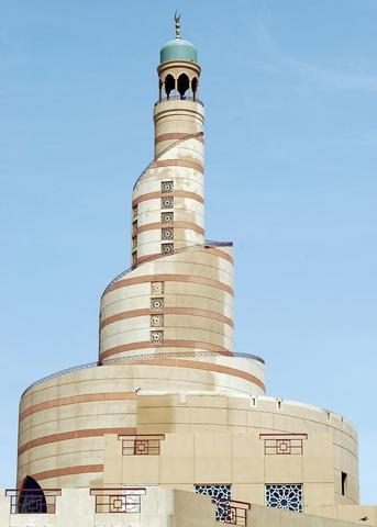 KDF Islamic Center, Spiral Minaret, Doha, Qatar - (Reiseziel, Zwischenstopp, Katar)