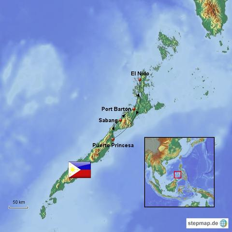 Meine Route von globesurfer.de - (Asien, Reisebericht, Phlippinen)