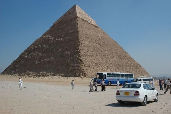 Pyramiden Ägypten - (Afrika, Ägypten, Tagesausflug)
