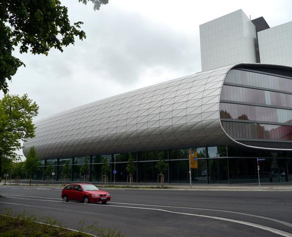 Nationalbibliothek - (Deutschland, Sehenswürdigkeiten, Städtereise)