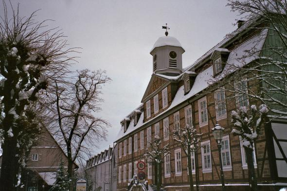 Bad Arolsen - (Deutschland, Europa, Winter)