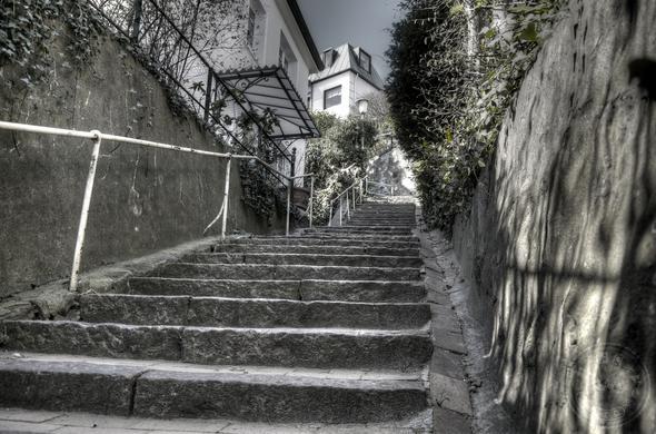 Blankenese - (Sehenswürdigkeiten, Weltreise, Treppe)