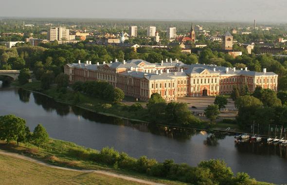 Schloss Jelgava 30 km von Riga Ballonfahrt - (Tourismus, Lettland, Riga)