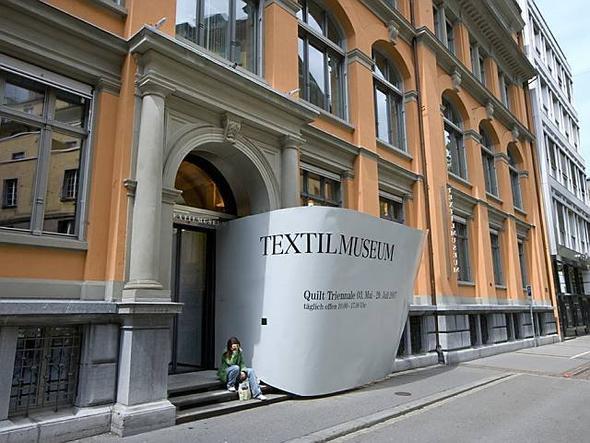 Textilmuseum, St. Gallen (Schweiz) - (Schweiz, Cafe, St. Gallen)