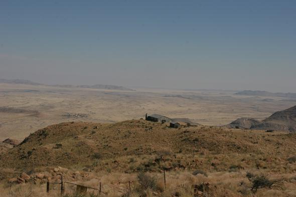 Campground am ??? Pass - (Afrika, Namibia, Mietauto)