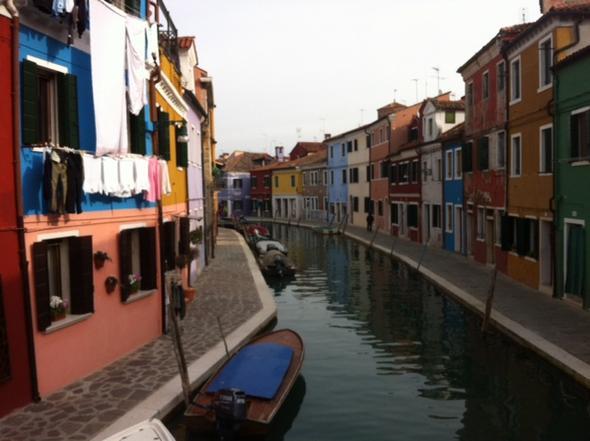 Insel Burano - (Italien, Venedig, Urlaub mit Kindern)