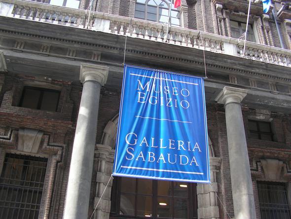 Eingang zum Museum - (Italien, Museum, Turin)