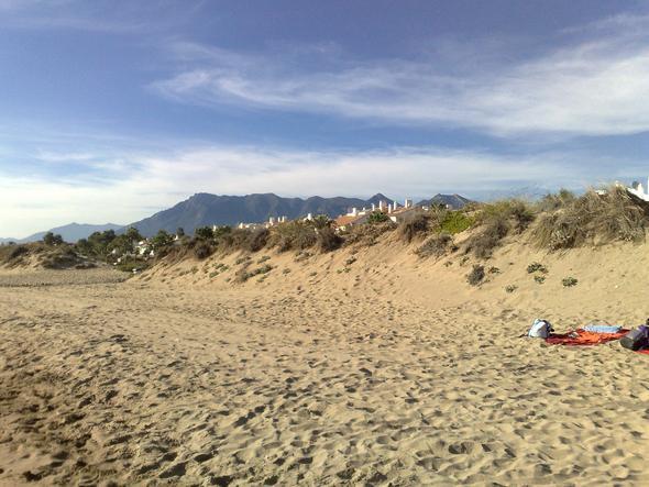 Strand bei Marbella - (Spanien, Sehenswürdigkeiten, Mietwagen)