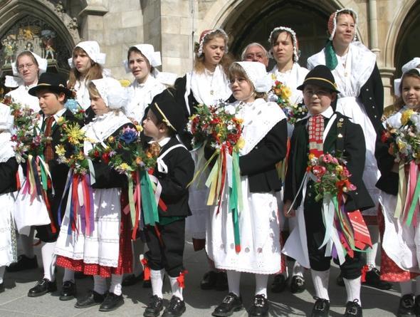 Sommersingen - (Europa, Frühling, Fest)