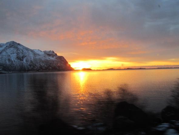 Norwegen Wintersonne - (Winter, Ausflug, Norwegen)