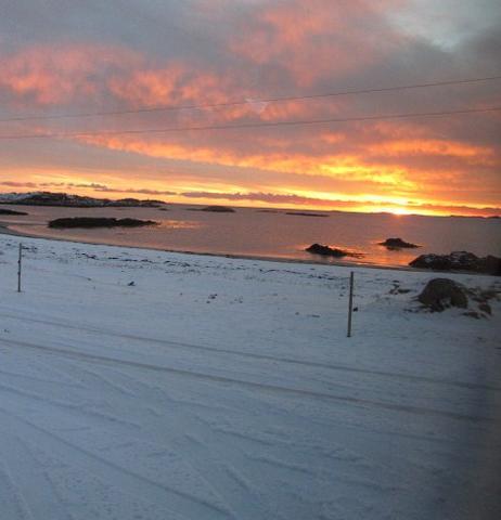 Wintersonne2 - (Winter, Ausflug, Norwegen)