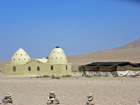 Bienenkorbhaus bei Cafe Bagdad - (Reiseziel, Naher Osten, Syrien)