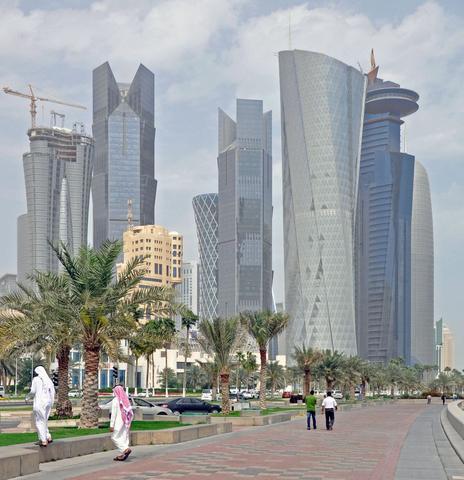 Doha Downtown - (Sehenswürdigkeiten, Arabien, Katar)