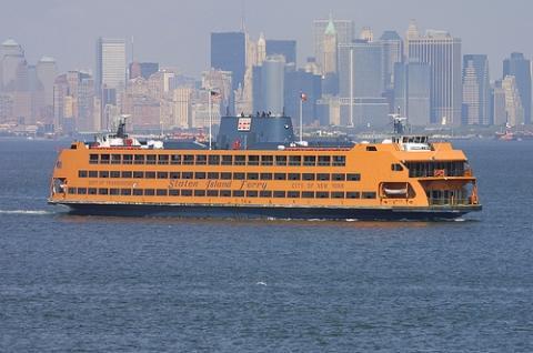 Staten Island Ferry - (USA, Amerika, New York)