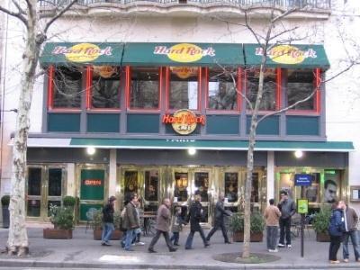 - (Reiseziel, Cafe, Hard-Rock-Cafe)