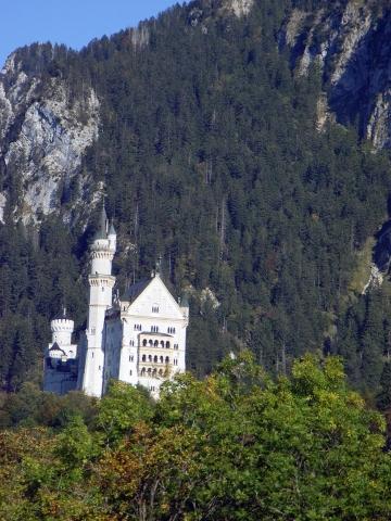 Hohenschwangau - Schloss Neuschwanstein - (Deutschland, Reiseziel, Senioren)