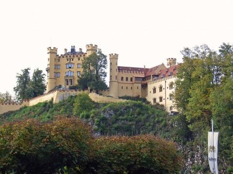 Hohenschwangau- Schloss Hohenschwangau - (Deutschland, Reiseziel, Senioren)