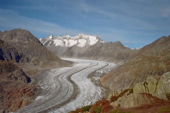 Aletschgletscher - (Ferien, Favoriten)