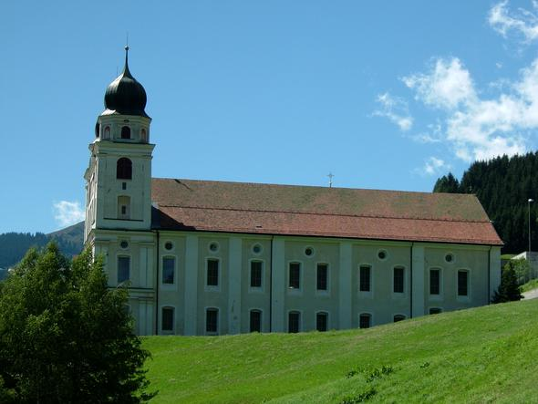 Disentis,Kloster - (Schweiz, Zug, Bahn)