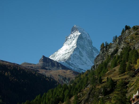 Zermatt/Matterhorn - (Schweiz, Zug, Bahn)