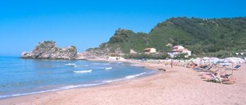 Strand von Insel Korfu - (Griechenland, Korfu)