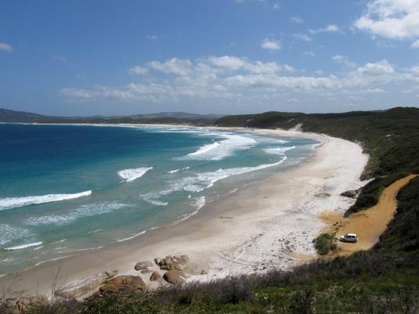 Die menschenleeren weißen Strände rings um Albany - (Australien, Anbieter, Ferienhaus)