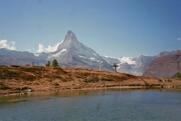 Leisee und Matterhorn - (Frankreich, Schweiz, Geheimtipp)