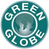 Das Green Globe Logo - (weltweit, Ökotourismus, Nachhaltig Reisen)