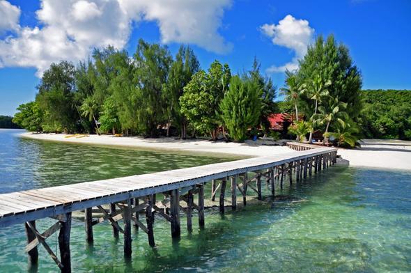 Carp Island / Palau - (Übernachtung, Transfer, Palau)