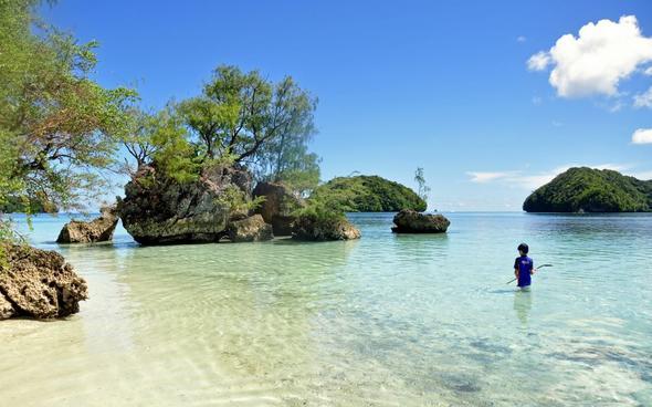 Rock Islands, Palau - (Übernachtung, Transfer, Palau)