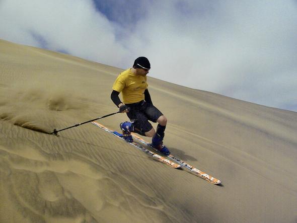 Duneskiing Namibia - (Nordafrika, Wüste, Sandsurfen)