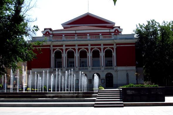 Das Stadttheater von Ruse - (Europa, Rumänien, Bukarest)