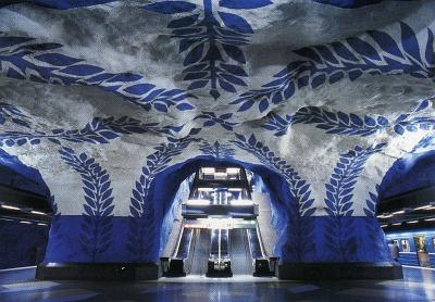 Tbana Stockholm - (Europa, Städtereise, öffentliche Verkehrsmittel)